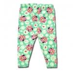 กางเกง สีเขียว ลาย Minnie กับถุงเท้า 3T