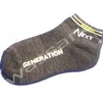 ถุงเท้า สีเทา ลาย Next Generation 16CM