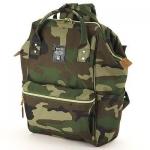 กระเป๋าเป้ Anello Lotte Camouflage (Standard) ผ้าโพลีเอสเตอร์ กันน้ำ