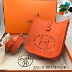 (SOLDOUT)HERMES TPM mini evelyne สี orange fue