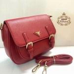 กระเป๋า Prada Hunting 10 นิ้ว สวยพรีเมียม ด้านในบุอย่างดี สายยาวถอดได้ การ์ดและถุงผ้า