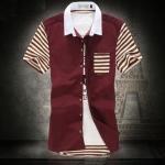 พรีออเดอร์ เสื้อเชิ้ตทำงาน ไซต์ M - 5XL แฟชั่นเกาหลีสำหรับผู้ชายไซต์ใหญ่ แขนสั้น เก๋ เท่ห์ - Preorder Large Size Men Size M - 5XL Korean Hitz Short-sleeved Shirt