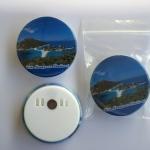 Koh Nangyuan 58 mm Fridge Magnet with paper clip