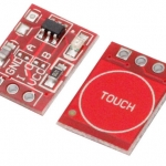 TTP223 Touch Key Switch Module Touching Button Capacitive Switches Self-Locking/No-Locking
