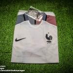 เสื้อบอลเวอร์ชั่นนักเตะฝรั่งเศษ เยือน Player Issue France Away EURO 2016