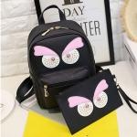 กระเป๋าเป้ผู้หญิง Angry eye 3 สี แถมกระเป๋าสตางค์