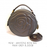 [SOLDOUT]ARISTOTLE Rose bag รุ่น Maxi สี Grey