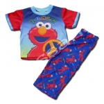 ชุดนอน สีน้ำเงิน-แดง ลาย Sesame Street 2T