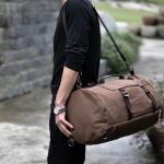 Canvas Chic Backpack สะพายข้าง เป้ ถือ