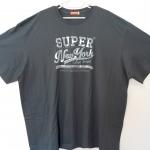 [พร้อมส่ง] เสื้อยืดคอกลมเนื้อดี จากโรงงาน เกรดพรีเมี่ยม ไซส์ 4XL รอบอก 58 นิ้ว แฟชั่นเกาหลีสำหรับผู้ชายไซส์ใหญ่มาก แขนสั้น เก๋ เท่ห์ - [In Stock] Large Size Men Size 4XL Korean Hitz Short-sleeved T-Shirt