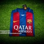 เสื้อบอลเวอร์ชั่นนักเตะ บาร์เซโลน่า เหย้า Player Issue Barcelona Home 2016/2017