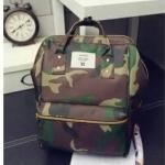 กระเป๋าเป้ anello สุดฮิต งานสวย ใบใหญ่จุเยอะ ขนาด ฐาน 10 นิ้ว สูง 14 นิ้ว สีชมพู ขาว กรม ดำ เขียว แดง ทหาร
