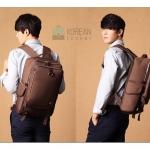 Kling/EXIT Premium Back pack(กระเป๋าเป้ สะพายหลัง) BA048 สีน้ำตาล พร้อมส่ง