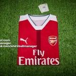 เสื้อบอลเวอร์ชั่นนักเตะอาร์เซนอล เหย้า Player ACTV Arsenal Home 2016/2017