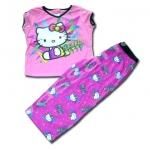 ชุดนอน สีชมพู ลาย Hello Kitty 10T