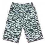 กางเกง สีขาว-ดำ ลายม้าลาย 5T
