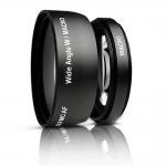 0.45x Macro Wide Angle Lens 52 mm