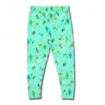 กางเกง สีเขียว ลาย Fairies กับต้นสน 2T
