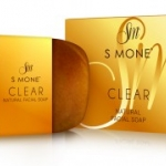 S Mone' CLEAR Natural Facial Soap สบู่เห็ดไมตาเกะ ไข่มุกทองคำ ล้างหน้าเคลียร์ปัญหาผิว สะอาดหมดจด หน้าใสไร้สิว