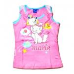 เสื้อ สีชมพู-ฟ้า ลาย Marie Little Sweetie 14T