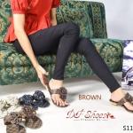 รองเท้าแตะ แบบหนีบ สไตล์ louis ลาย Damier ด้านหน้าแต่งดอกกุหลาบ สองดอก งานสวยเป๊ะ หนังPUนิ่ม ใส่สบาย สวยเก๋ไม่เหมือนใคร
