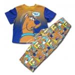 ชุดนอน สีน้ำตาล ลาย Scooby Doo 4T