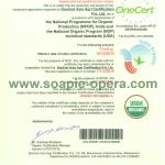 Castor oil Organic Certificate