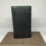 [SOLDOUT]Used Louisvuitton Wallet Epi Black