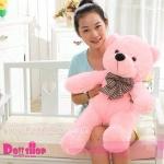 ตุ๊กตาหมียิ้ม pink 0.8 เมตร