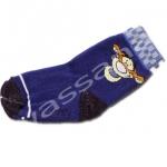 ถุงเท้า สีน้ำเงิน-ดำ ลาย Tigger 12CM