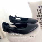 รองเท้าคัทชู ส้นแบน สวยน่ารัก วัสดุหนังพียูเนื้อดี ทรงหัวแหลม เพิ่มดีเทล ด้านข้างแต่งโบว์น่ารักลงตัว สูง 1.5 นื้ว แบบเรียบแอบเก๋ ลองมาอวดข้อเท้า และเรียวขาสวยด้วยรองเท้าคู่นี้ สีดำ ครีม น้ำตาล