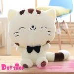 ตุ๊กตาแมว 0.4 เมตร (สีขาว)
