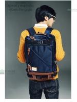 Y-MASTER STORM Back pack(กระเป๋าเป้ สะพายหลัง) BA016 สีน้ำเงิน พร้อมส่ง