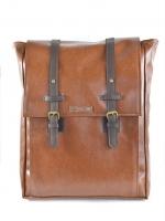 Back pack(กระเป๋าเป้ สะพายหลัง) BA035 สีน้ำตาลแดง พร้อมส่ง