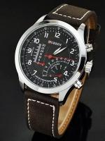 นาฬิกาข้อมือชาย สายหนัง Curren Watch A-08