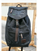 Back pack(กระเป๋าเป้ สะพายหลัง) BA003 สีดำ พร้อมส่ง