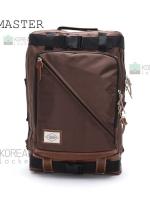 Y-MASTER Back pack(กระเป๋าเป้ สะพายหลัง) BA016 สีน้ำตาล พร้อมส่ง
