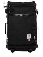 OZUKO Back pack(กระเป๋าเป้ สะพายหลัง) BA055 สีดำ พร้อมส่ง