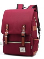 Back pack(กระเป๋าเป้ สะพายหลัง) BA045 สีแดง พร้อมส่ง