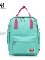 8848 Back pack(กระเป๋าเป้ สะพายหลัง) BA043 สี มิ้นท์ พร้อมส่ง