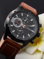 นาฬิกาข้อมือ Curren สายหนังแท้ รุ่น A14