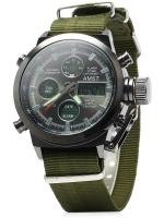 นาฬิกาข้อมือ AMST-GN สายไนลอนสีเขียว