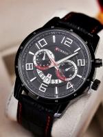 นาฬิกาข้อมือ Curren สายหนังแท้ รุ่น A13