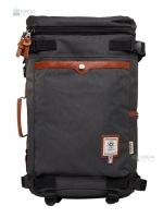 OZUKO Back pack(กระเป๋าเป้ สะพายหลัง) BA055 สีเทา พร้อมส่ง