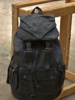 Back pack(กระเป๋าเป้ สะพายหลัง) BA001 สีดำ พร้อมส่ง