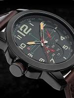 นาฬิกาข้อมือชาย สายหนัง Curren Watch A-11