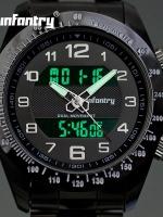 นาฬิกาข้อมือดิจิตอล 2ระบบ LED นาฬิกาInfantry watch (In-Stock)