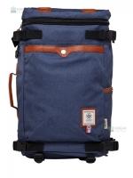 OZUKO Back pack(กระเป๋าเป้ สะพายหลัง) BA055 สีน้ำเงิน พร้อมส่ง