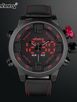 นาฬิกาข้อมือแฟชั่น นาฬิกาสายยาง ดิจิตอล 2 ระบบ Infantry watch (In-stock)