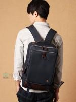 KLING Premium Back pack(กระเป๋าเป้ สะพายหลัง) BA048 สีน้ำเงินเข้ม พร้อมส่ง สำเนา